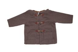 Manteau brandebourg à capuche pointue | 6 ans | 59 €