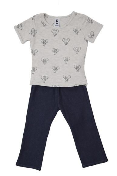 Ensemble T-shirt et son jeans stretch | 5 ans | 48 €