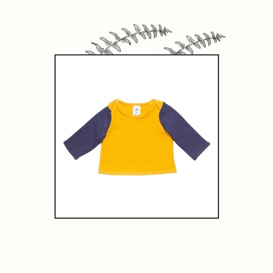 Polo en jersey moucheté | 3 mois | 18€