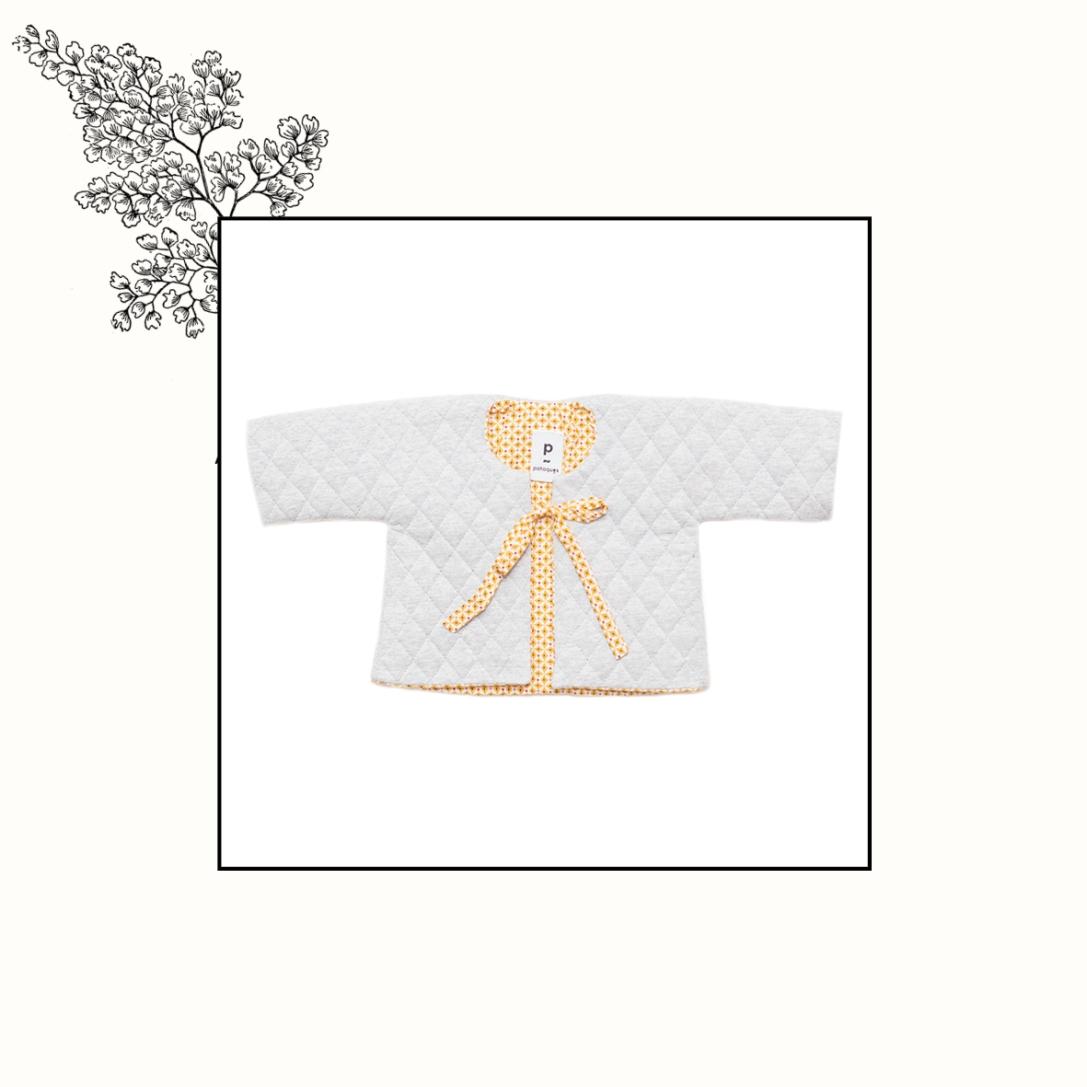 Veste kimono doublée   3mois   49€