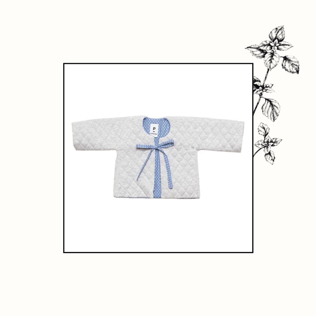 Veste kimono doublée   6 mois   49€