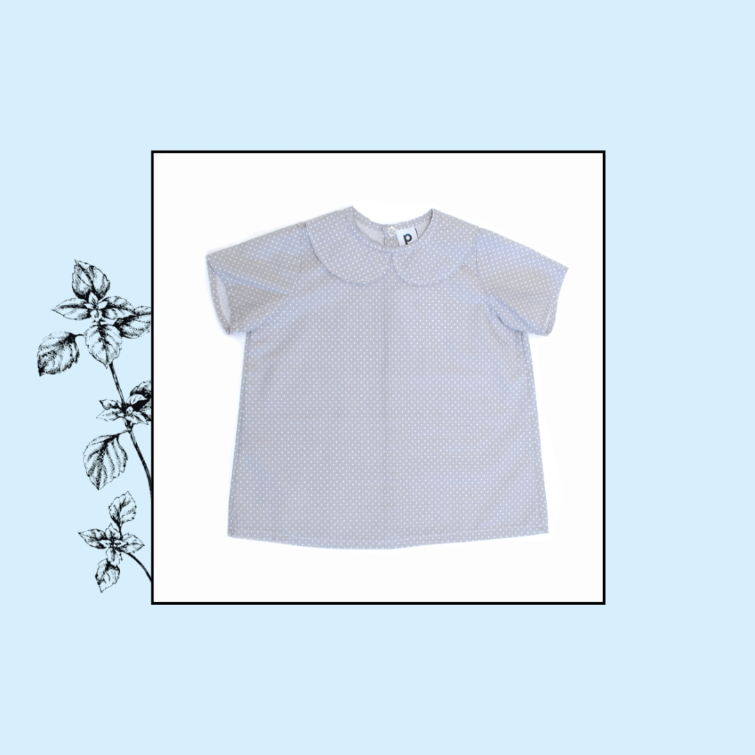 Blouse col Claudine | 4 ans | 28€