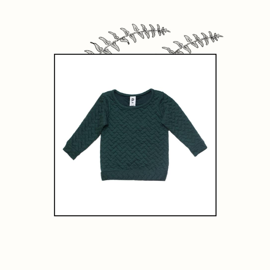 Pull vert sapin | 4 ans | 39€